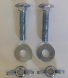 Close Coupling Plates Replacement Nut and Bolt Kit - 08000880